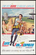 """Movie Posters:Elvis Presley, Fun in Acapulco Lot (Paramount, 1963). One Sheets (27"""" X 41"""") andLobby Cards (3) (11"""" X 14""""). Elvis Presley.. ... (Total: 4 Items)"""