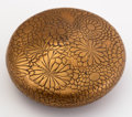 Asian:Japanese, A JAPANESE KOGO (INCENSE BOX). 19th Century. 2-1/2 inches (6.4 cm)diameter. ...
