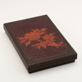 Asian:Japanese, A JAPANESE SUZURIBAKO (WRITING BOX) BY YOSEI. 19th Century. 9-3/4 x6-1/2 inches (24.8 x 16.5 cm). ...