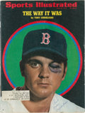Autographs:Others, 1970 Tony Conigliaro Signed Sports Illustrated Magazine....