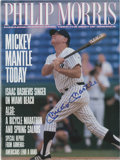 "Autographs:Others, Mickey Mantle Signed ""Phillip Morris"" Magazine...."