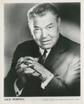 Autographs:Photos, Jack Dempsey Signed Photograph....