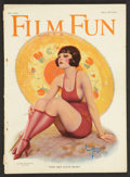 """Movie Posters:Miscellaneous, Film Fun Magazine (W.D. Green Publishing, 1924). Magazine (Multiple Pages, 8.25"""" X 11.25""""). Miscellaneous.. ..."""