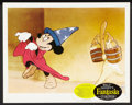 "Movie Posters:Animated, Fantasia (Buena Vista, R-1963). Lobby Card Set of 8 (11"" X 14""). Animated.. ... (Total: 8 Items)"