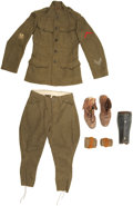 Military & Patriotic:WWI, Identified WWI Uniform Group.... (Total: 7 Items)