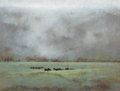 Texas:Early Texas Art - Regionalists, NANCY BUSH (American, b. 1947). Rociada Pasture. Oil oncanvas laid on board. 9 x 12 inches (22.9 x 30.5 cm). Signed low...