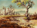 Western:20th Century, HAL EMPIE (American, 1909-2002). A Day in April, 1972. Oil on masonite. 9 x 12 inches (22.9 x 30.5 cm). Signed lower lef...