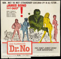 "Movie Posters:James Bond, Dr. No (United Artists, 1962). Six Sheet (81"" X 81""). James Bond.. ..."