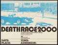 "Movie Posters:Cult Classic, Death Race 2000 (New World, 1975). College Poster (17"" X 22""). CultClassic.. ..."