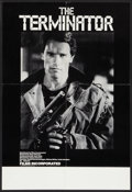 "Movie Posters:Science Fiction, The Terminator (Films Incorporated, 1985). College Poster (17"" X25""). Science Fiction.. ..."