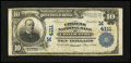 National Bank Notes:Missouri, Chillicothe, MO - $10 1902 Plain Back Fr. 626 The Citizens NB Ch. #(M) 4111. ...