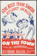 "Movie Posters:Musical, On the Town (MGM, R-1962). One Sheet (27"" X 41""). Musical.. ..."