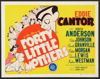 """Forty Little Mothers (MGM, 1940). Lobby Card Set of 8 (11"""" X 14""""). Comedy. ... (Total: 8 Items)"""