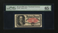 Fractional Currency:Fifth Issue, Fr. 1381 50¢ Fifth Issue PMG Gem Uncirculated 65 EPQ....