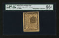 Colonial Notes:Delaware, Delaware May 1, 1777 4d PMG Choice About Unc 58 EPQ....
