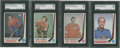 Hockey Cards:Lots, 1969 O-Pee-Chee Hockey SGC 96 Mint 9 Lot of four.... (Total: 4cards)