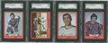 Hockey Cards:Lots, 1973 O-Pee-Chee Hockey SGC 96 Mint Lot of 4.... (Total: 4 card)