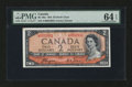 Canadian Currency: , BC-30A $2 1954 Devil's Face . ...