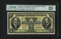 Canadian Currency: , Montreal, PQ- La Banque Provinciale du Canada $5 Aug. 1, 1928 Ch. # 615-14-08. ...