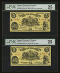 Canadian Currency: , Toronto, ON- The Bank of Toronto $5 Jan. 2, 1935 Ch. 715-24-02.Toronto, ON- The Bank of Toronto $5 Jan. 2, 1937 Ch. 715... (Total:2 notes)