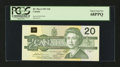 Canadian Currency: , BC-58aA-ii $20 1991. ...