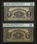 Canadian Currency: , Halifax, NS- The Bank of Nova Scotia $5 Jan. 2, 1924 Ch. #550-32-02. Halifax, NS- The Bank of Nova Scotia $5 Jan. 2, 19...(Total: 2 notes)