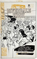 Original Comic Art:Covers, Stan Goldberg Archie at Riverdale High #55 Cover OriginalArt (Archie, 1978)....