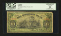Canadian Currency: , Toronto, ON- The Dominion Bank $10 Jan. 3rd 1910 Ch. 220-18-04. ...