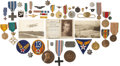 Military & Patriotic:WWI, World War I: Collection of Military Decorations, Medals, andInsignia of Lieutenant Colonel Norman Sweetser, 1917-1970....