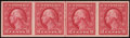 Stamps, 2c Carmine, Imperf Coil (459),...