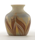 Art Glass:Tiffany , PROPERTY FROM A FLORIDA COLLECTION. TIFFANY STUDIOS. A FavrileGlass Cabinet Vase, circa 1900. Marks: engraved 8347C L.C...