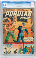 Golden Age (1938-1955):Adventure, Popular Comics #103 File Copy (Dell, 1944) CGC NM- 9.2 Off-white pages....