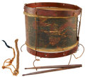 Military & Patriotic:Civil War, Civil War Eagle Snare Drum of the 78th New York Infantry, 1stRegiment Eagle Brigade, Cameron Highlanders....