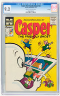 Golden Age (1938-1955):Cartoon Character, Casper the Friendly Ghost #38 File Copy (Harvey, 1955) CGC NM- 9.2Cream to off-white pages....
