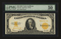 Large Size:Gold Certificates, Fr. 1173 $10 1922 Gold Certificate Star PMG About Uncirculated 50 EPQ....