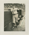 Autographs:Photos, Rogers Hornsby Signed Photograph....