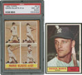 Autographs:Checks, 1961 and 1962 Roger Maris Topps Cards Lot of 2.... (Total: 1 cards)