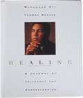 "Boxing Collectibles:Autographs, Muhammad Ali Signed ""Healing"" Book. ..."