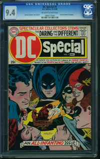 DC Special #1 (DC, 1968) CGC NM 9.4 Off-white to white pages