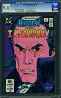 Modern Age (1980-Present):Horror, House of Mystery #310 (DC) CGC NM 9.4 Off-white to white pages.