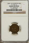 Civil War Tokens, (1861-65) Token Boston MA, C.F. Tuttle's, F-115 G-1a Token XF45Brown NGC....