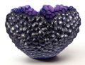 """Art Glass:Lalique, LALIQUE. """"Raspberry"""" A Limited Edition Bowl Plat, designed 2003.Numbered 7 from a sold-out edition of 21, one of two remai..."""