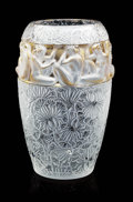 """Art Glass:Lalique, LALIQUE. """"Angelique"""" A Limited Edition Gold Glass Vase, designed 2007. Numbered 17 from an edition of 19, the last one remai..."""