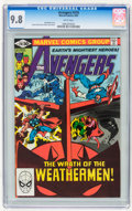 Modern Age (1980-Present):Superhero, The Avengers #210 (Marvel, 1981) CGC NM/MT 9.8 White pages....