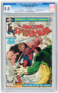 Modern Age (1980-Present):Superhero, The Amazing Spider-Man #217 (Marvel, 1981) CGC NM/MT 9.8 White pages....