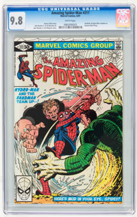 The Amazing Spider-Man #217 (Marvel, 1981) CGC NM/MT 9.8 White pages