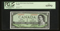 Canadian Currency: , BC-29a $1 1954 Devil's Face.. ...