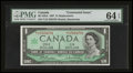 Canadian Currency: , BC-45bA $1 1967 Replacement.. ...
