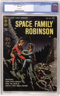 Space Family Robinson #1 (Gold Key, 1962) CGC VF+ 8.5 Off-white pages