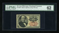 Fractional Currency:Fifth Issue, Fr. 1308 25c Fifth Issue PMG Uncirculated 62....